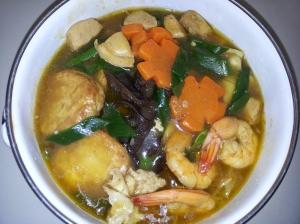 tadaaaa~~ sapo tahu seafood